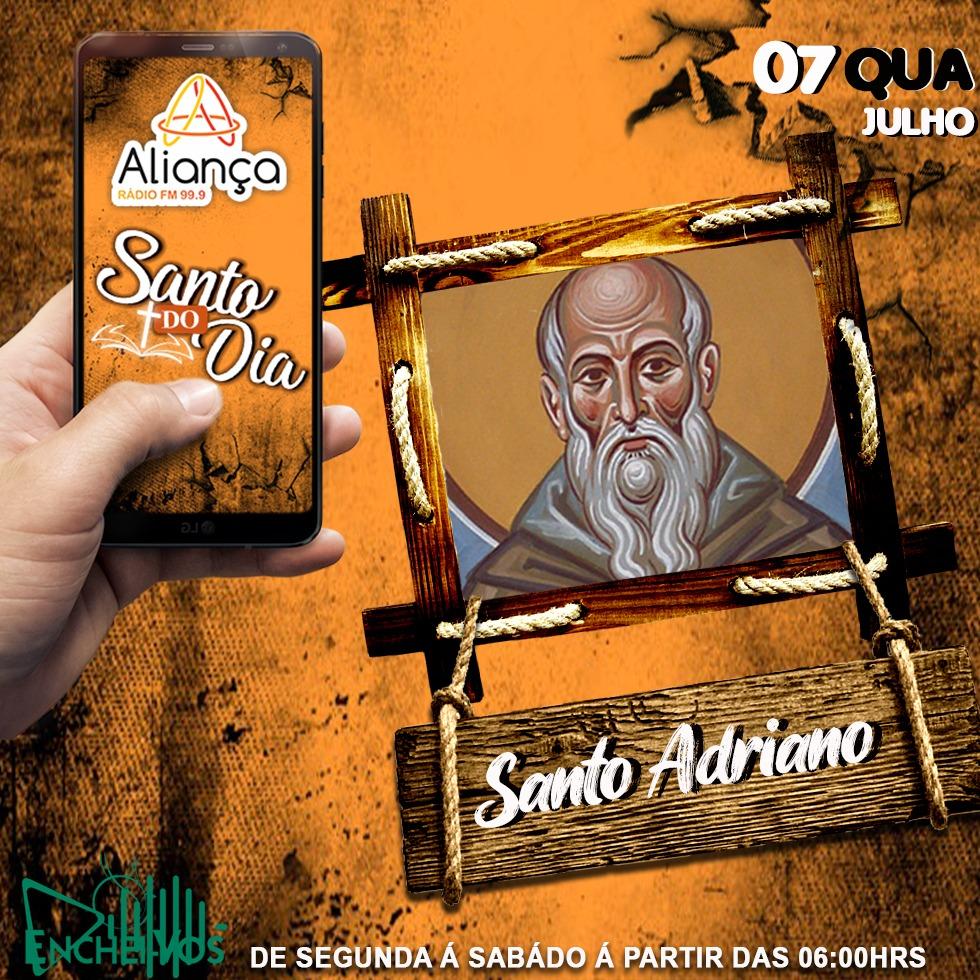 """""""Santo do Dia"""": conheça a história de Santo Adriano"""