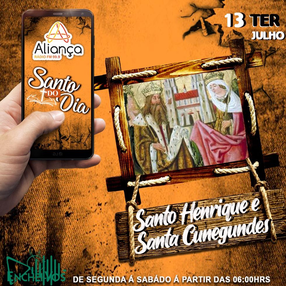 """""""Santo do Dia""""13/07): Conheça hoje a história de Santo Henrique e Santa Cunegundes"""
