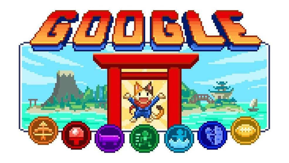 Google cria joguinho retrô com modalidades esportivas para Olimpíadas