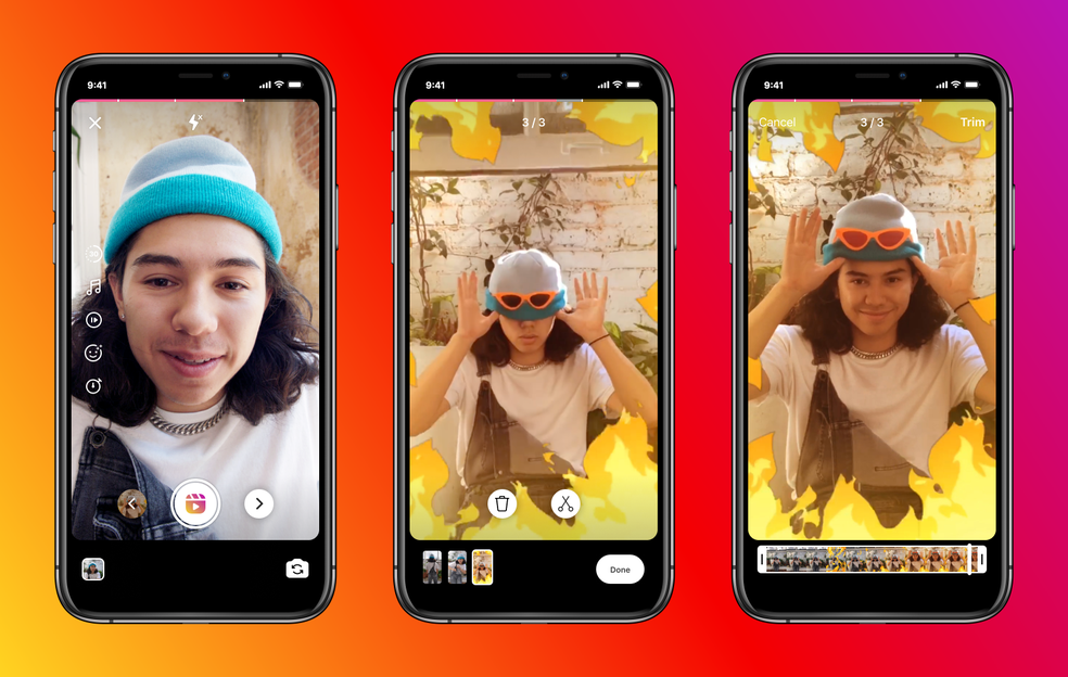 Instagram Reels, rival do TikTok, aumenta a duração dos vídeos para 60 segundos