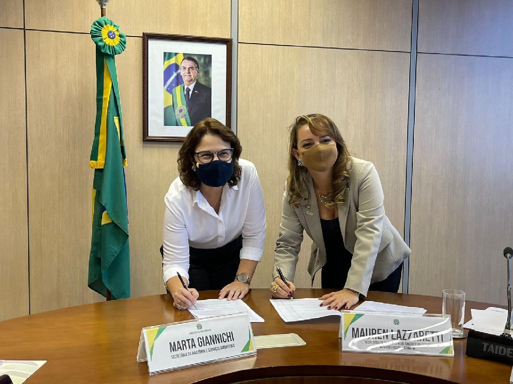 Governo de Mato Grosso assina acordo para remunerar propriedades que preservam mata nativa