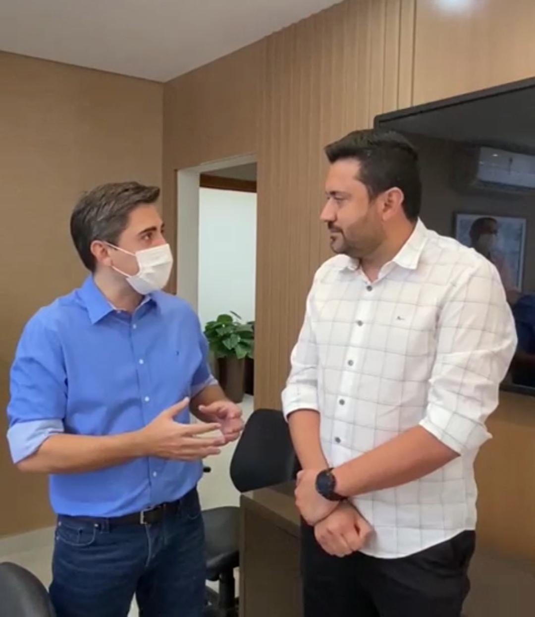 Prefeito de Colíder (MT) cumpre agenda em Cuiabá e ajusta projetos para a Educação com o secretário estadual Alan Porto