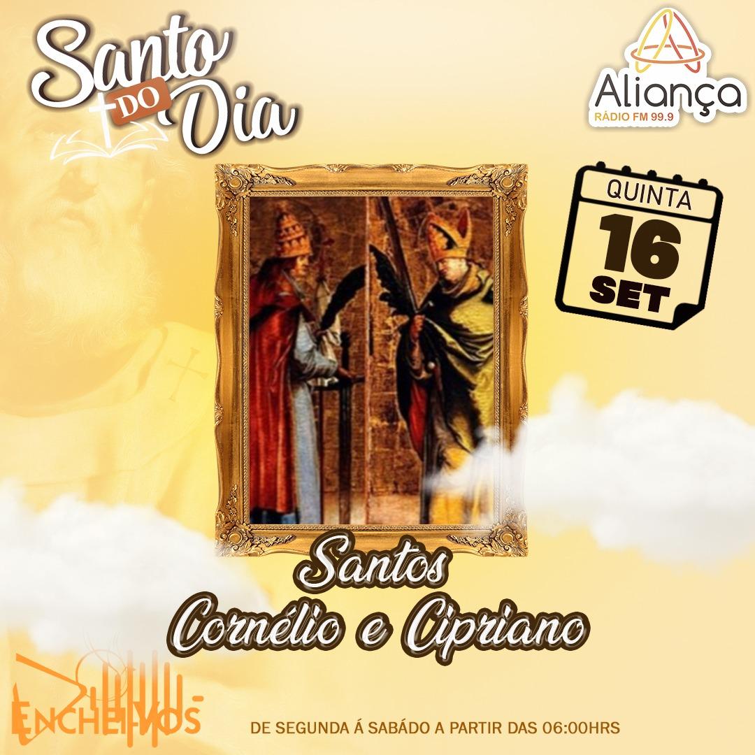 """""""Santo do Dia"""": conheça São Cornélio e São Cipriano"""