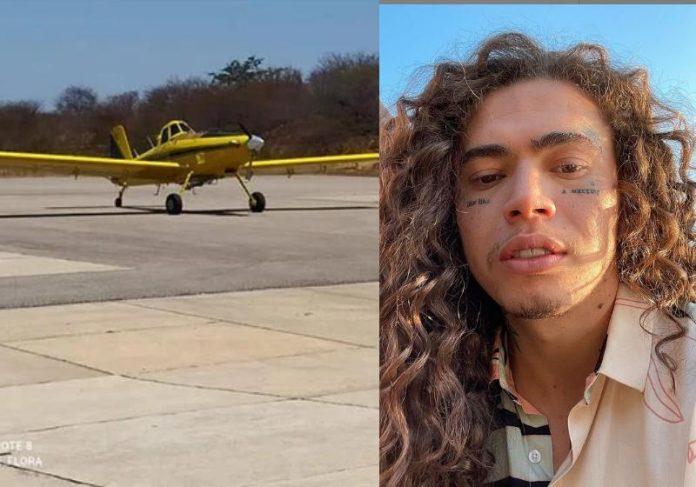 Whindersson manda avião para o PI e incêndios são controlados