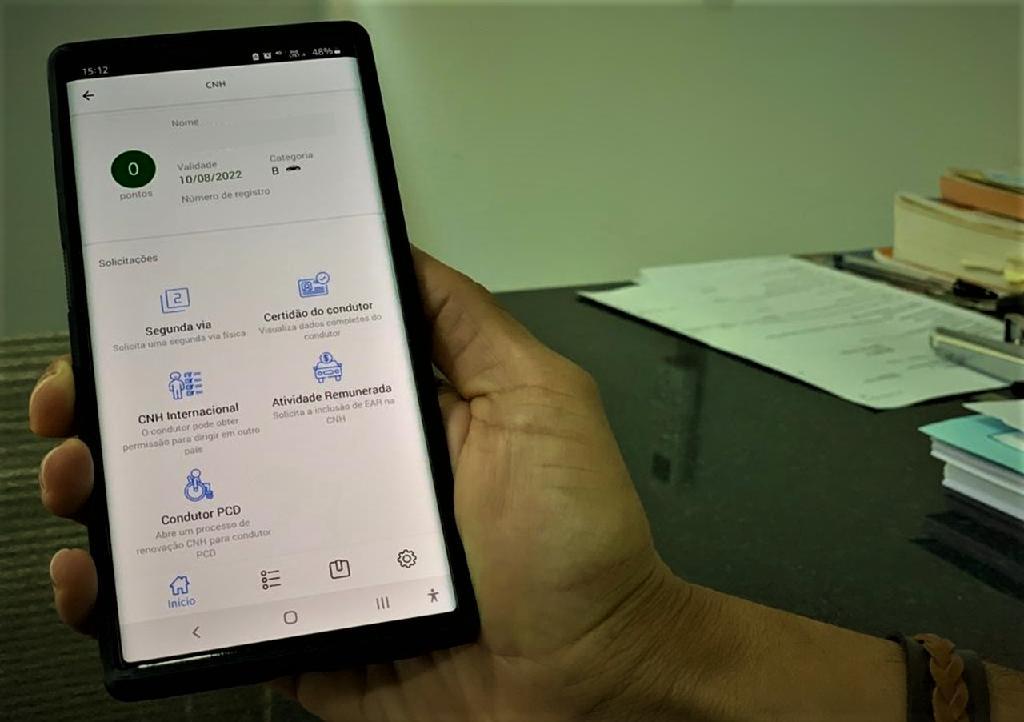 Detran-MT amplia serviços online através do aplicativo MT Cidadão