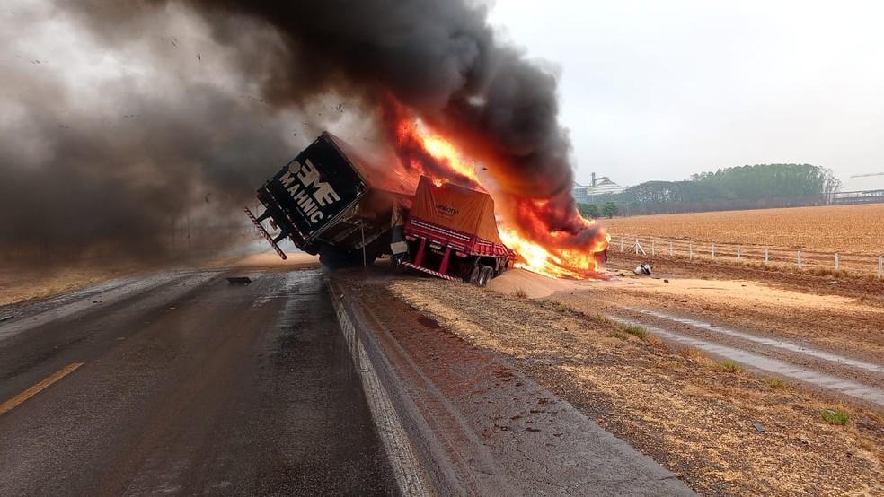 Concessionária registra aumento de 34% nos atendimentos a veículos em chamas na BR-163