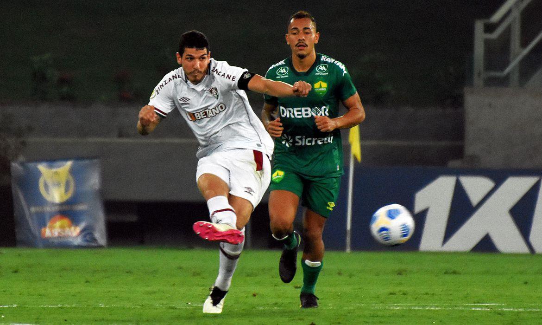 Fluminense e Cuiabá empatam em 2 a 2 na Arena Pantanal