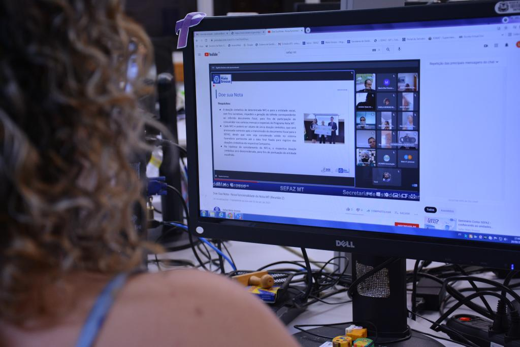 Sefaz apresenta o 'Doe Sua Nota' para entidades sociais cadastradas no programa em MT