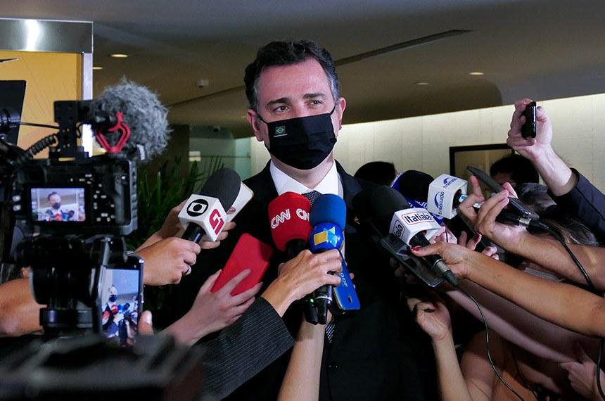 Pacheco diz que decisão sobre MP que altera marco civil da internet sai esta semana