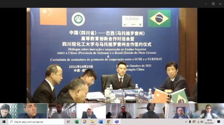 Governo de Mato Grosso assina acordo de colaboração com universidade da China