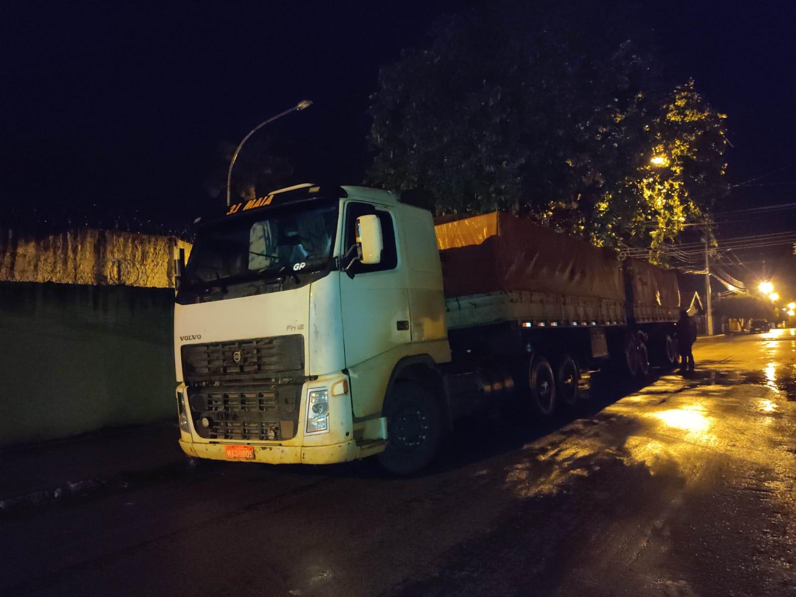 Polícia Civil prende em MT motorista suspeito de furtar carga de soja