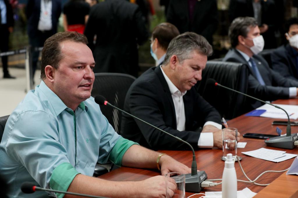 Empresários estão otimistas para investir em Mato Grosso após trabalho fiscal do Governo, afirma Max Russi