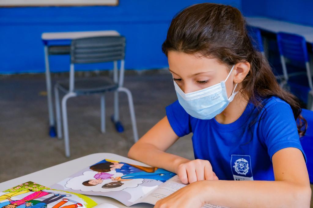 Seduc reforça aos pais que retorno das aulas 100% presenciais será seguro
