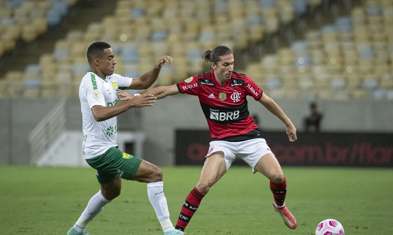 Flamengo fica no 0 a 0 com o Cuiabá no Maracanã