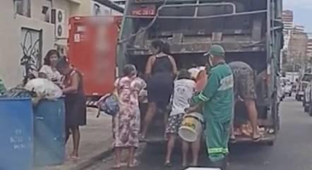 Fome e situações de extrema pobreza se tornam rotina no país